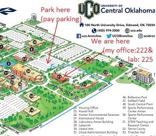 uco edmond campus map Morshed Khandaker